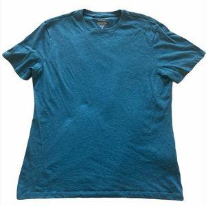 3/$15 Banana Republic Medium blue/teal shirt M